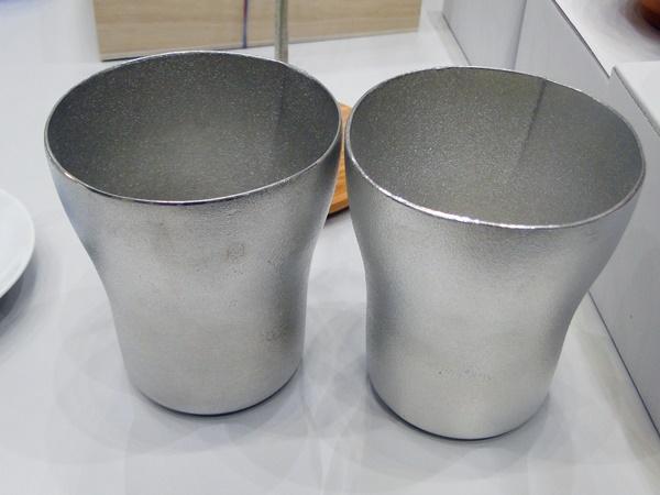 【スタイルストア】SHIROKANE/錫のビアカップ