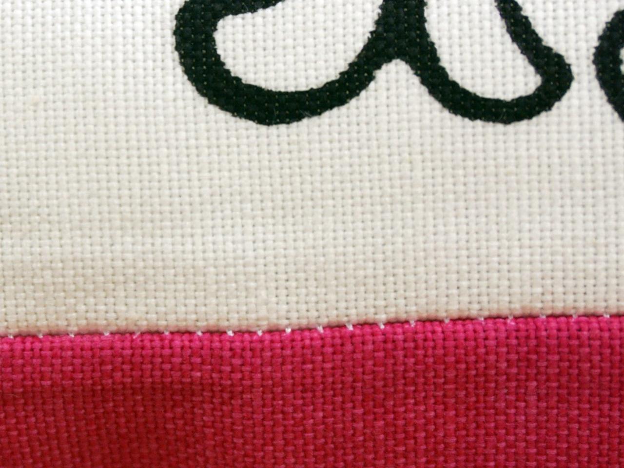 【ザ・クッション】クッション 縫い目