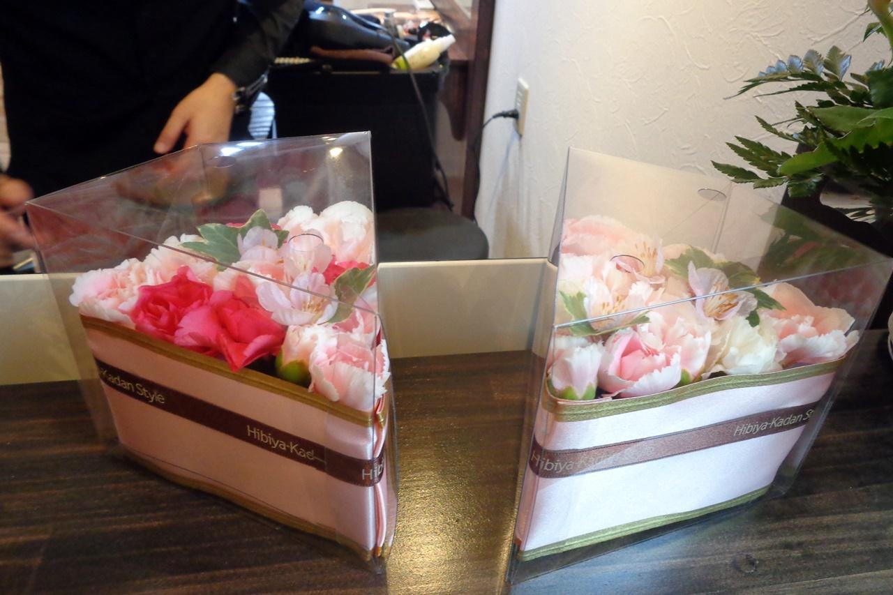 ■【日比谷花壇】フラワーパティシエ「サクラホイップ」