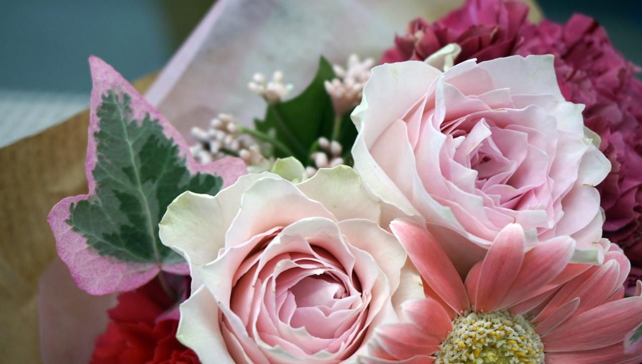 日比谷花壇:花束「女性へ気持ちを伝えるMESSAGEMAG」