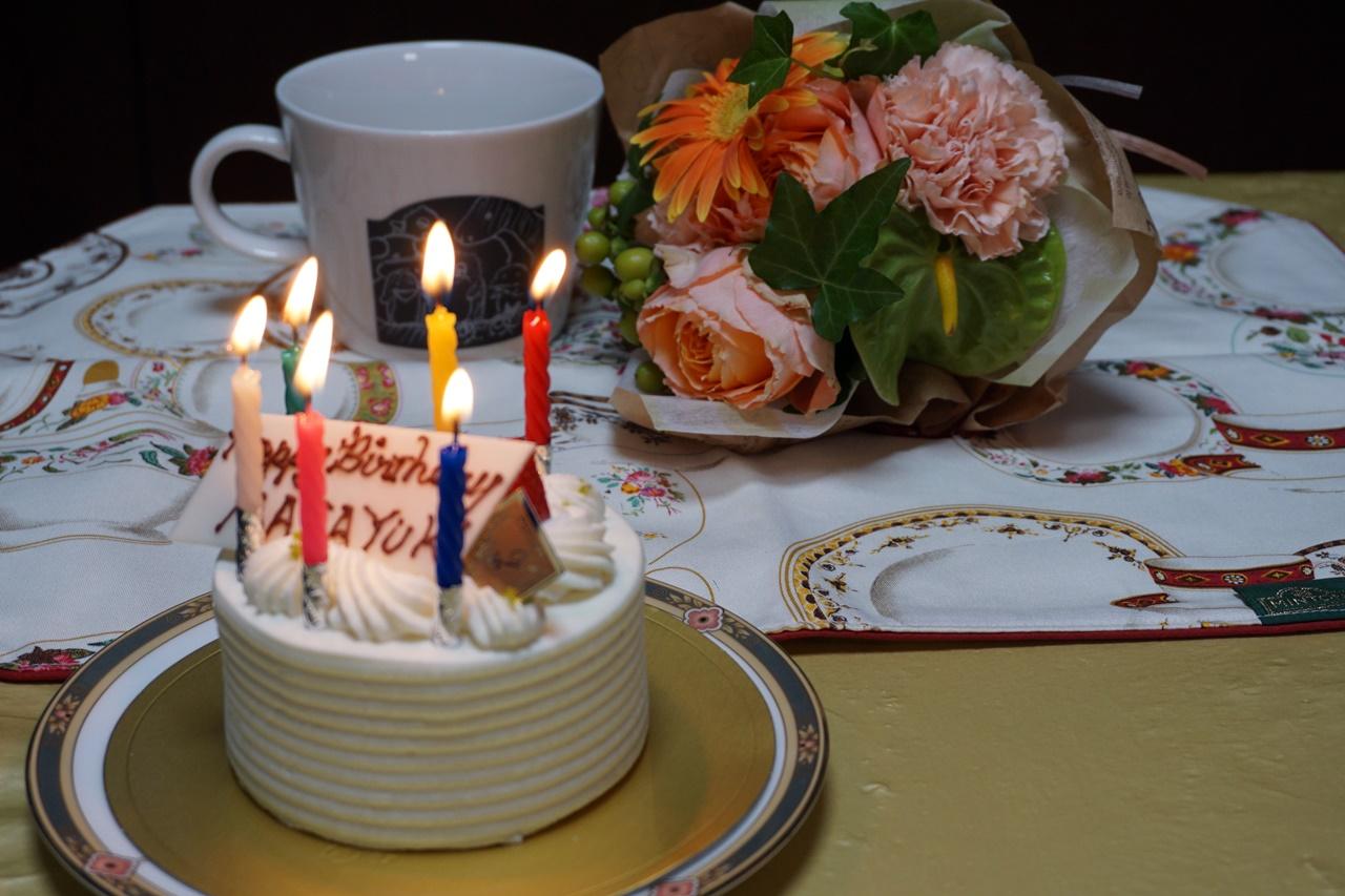 日比谷花壇:花束「男性へ気持ちを伝えるMESSAGEMAG」を旦那の誕生日に