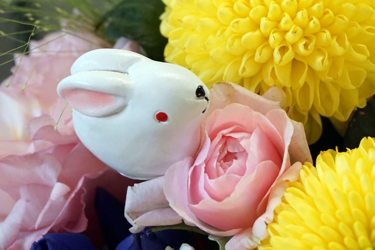 【日比谷花壇】アレンジメント「月夜のダンス」