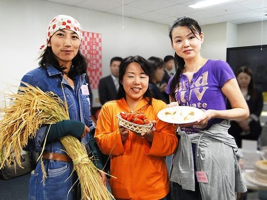 【三越ギフト】農業女子たち