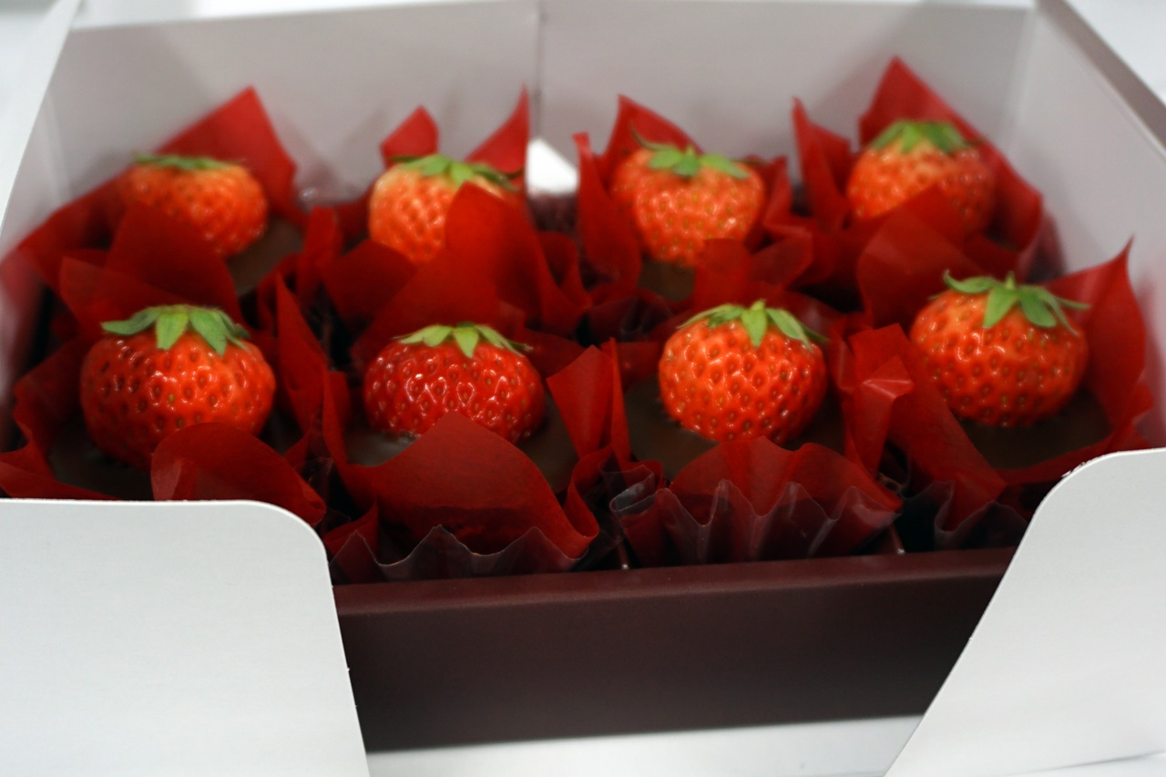 苺スイーツ店「オードリー」の「オードリー」