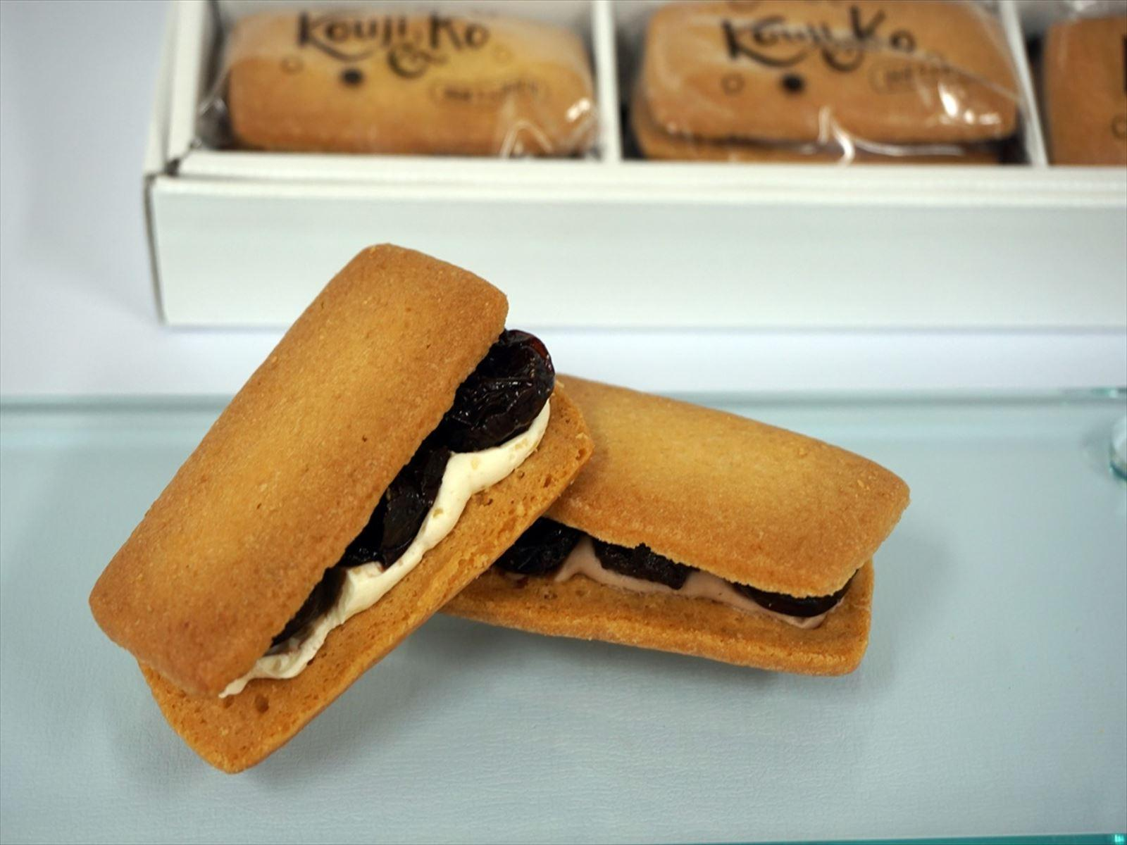 Kouji & ko(コウジアンドコー)山梨県産巨峰の発酵バターサンド