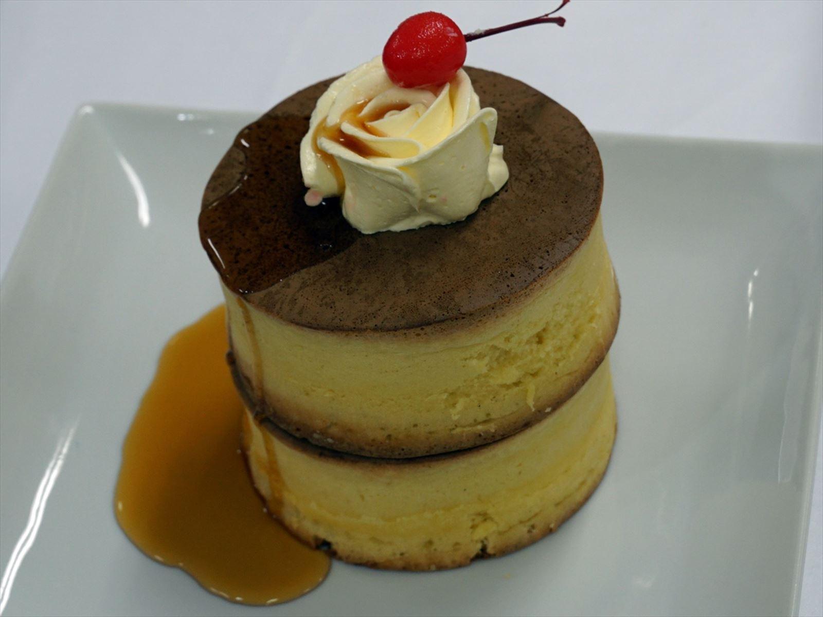 【高島屋限定】<純喫茶テイスティ>懐かしホットケーキセット