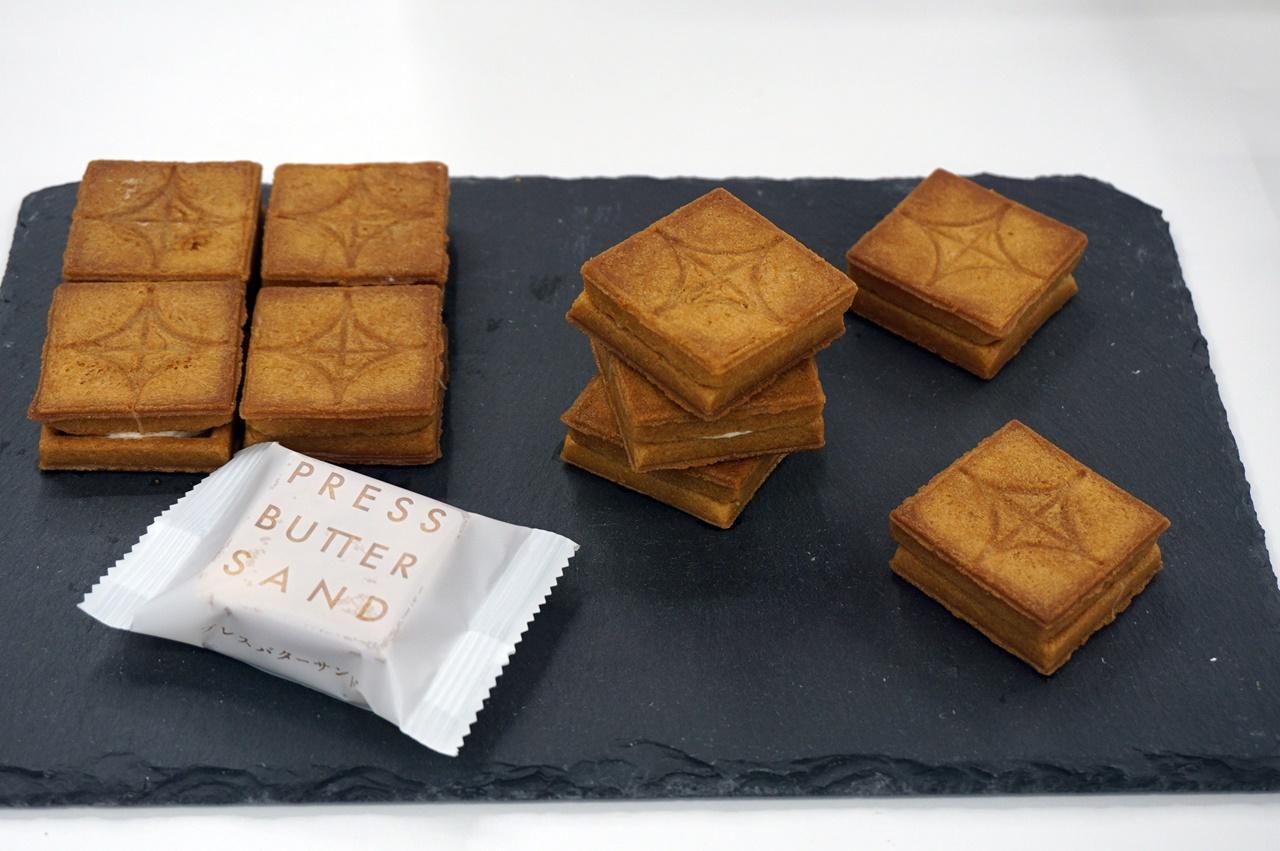 バターサンド専門店 PRESS BUTTER SANDのプレスバターサンド