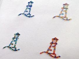 【LANDS' END】カラフルな刺繍
