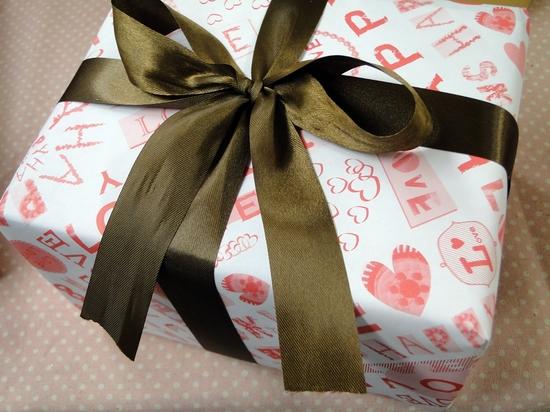 「KURIMO」包装紙ナチュラルドット
