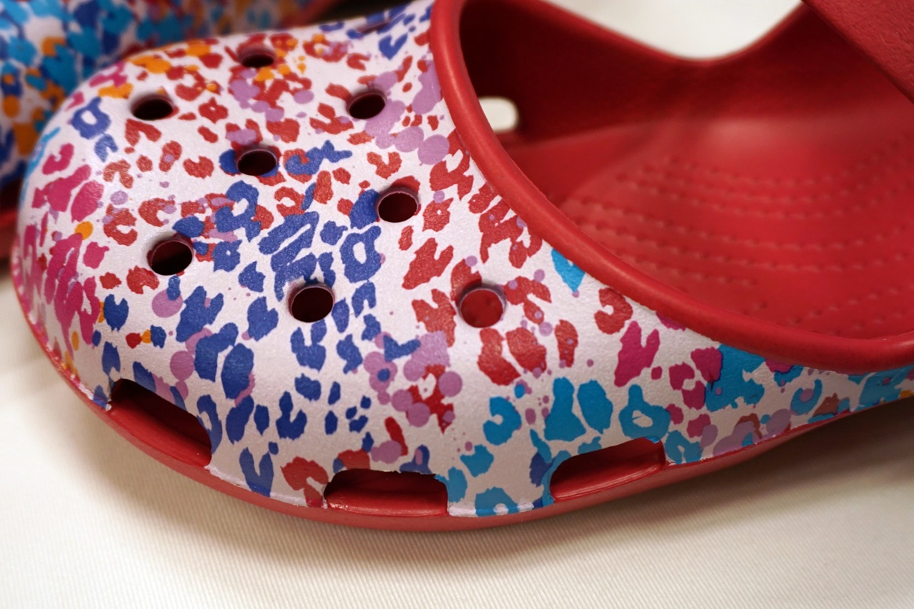 【Crocs(クロックス)】classic floral clog クラシック フローラル クロッグ