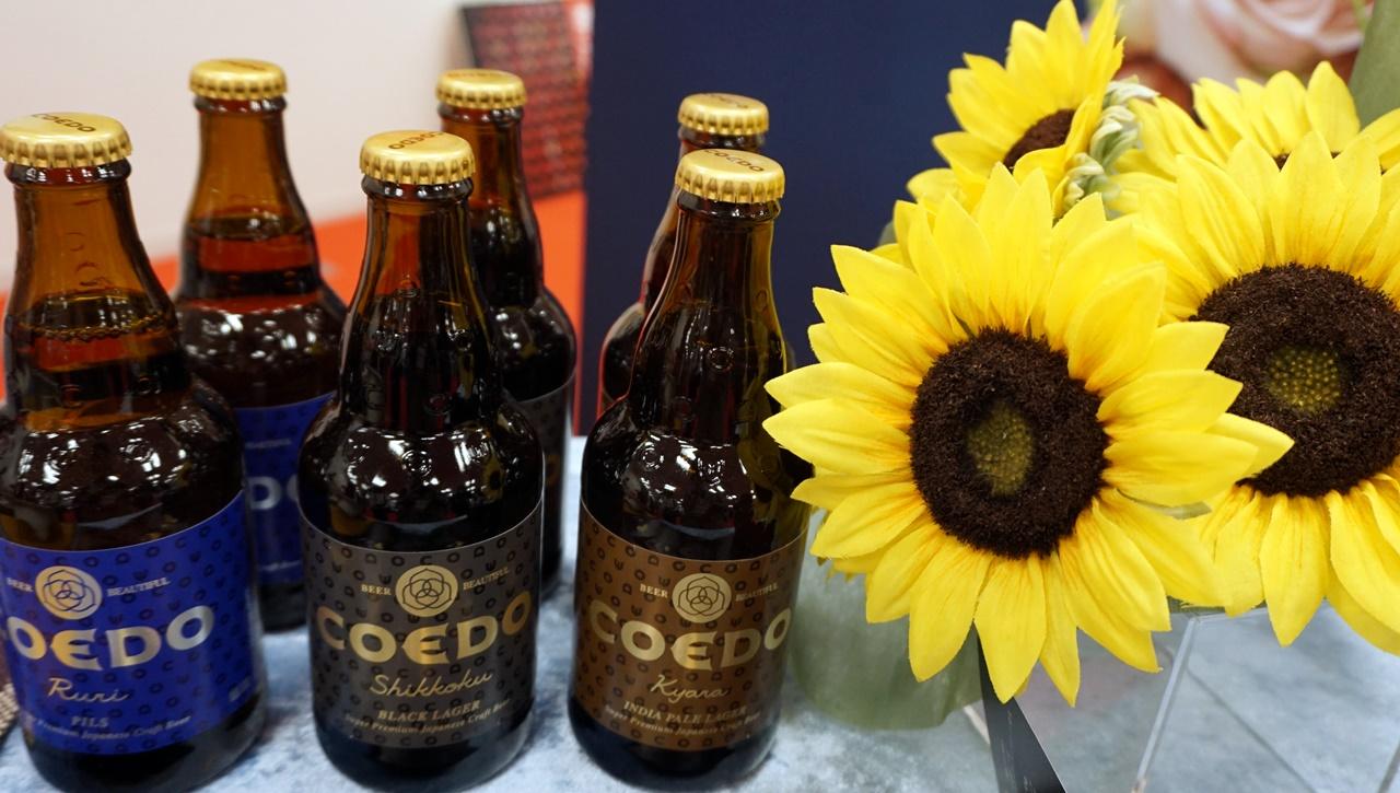 ■【日比谷花壇】コエドブルワリー「コエドビールセットとヒマワリの花束」