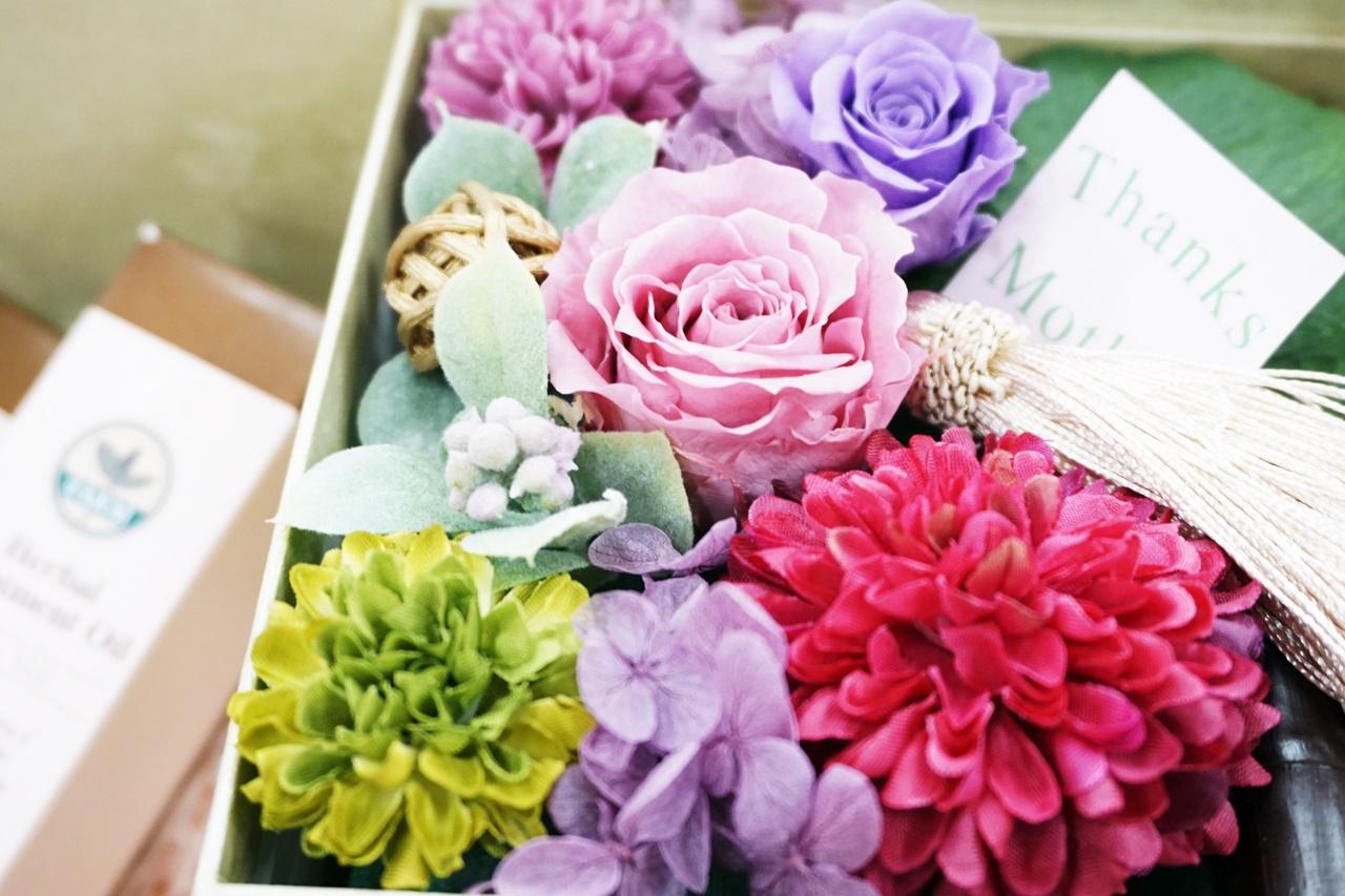 ■【C'BON】オイル美容フラワーセット(母の日)
