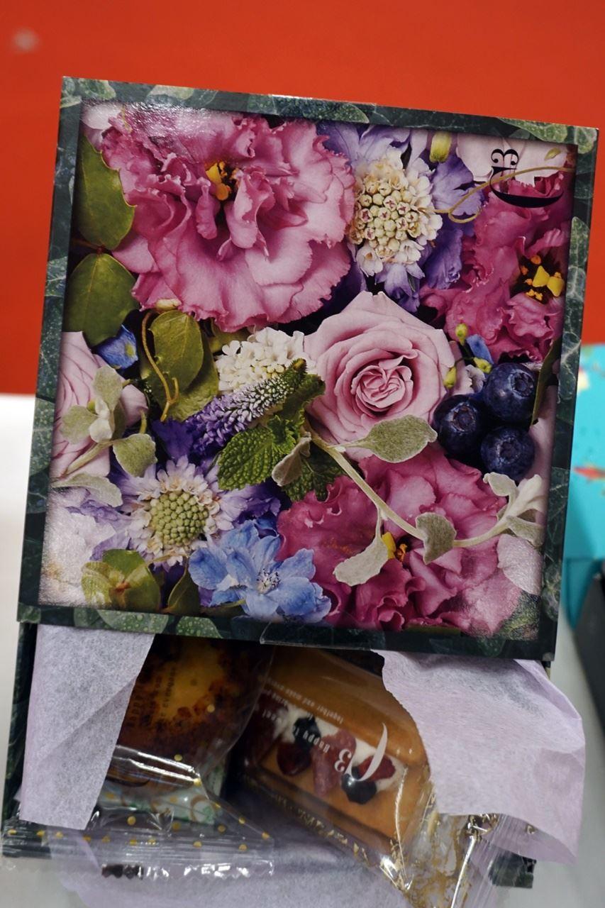 シーキューブ「ハッピースウィートアソート」と母の日花束のセット