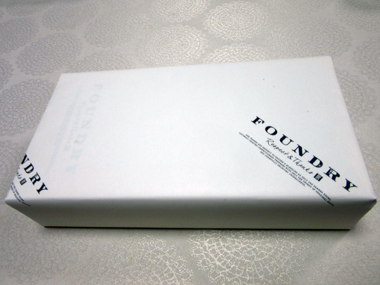 【FOUNDRY(ファウンドリー)】パッケージ