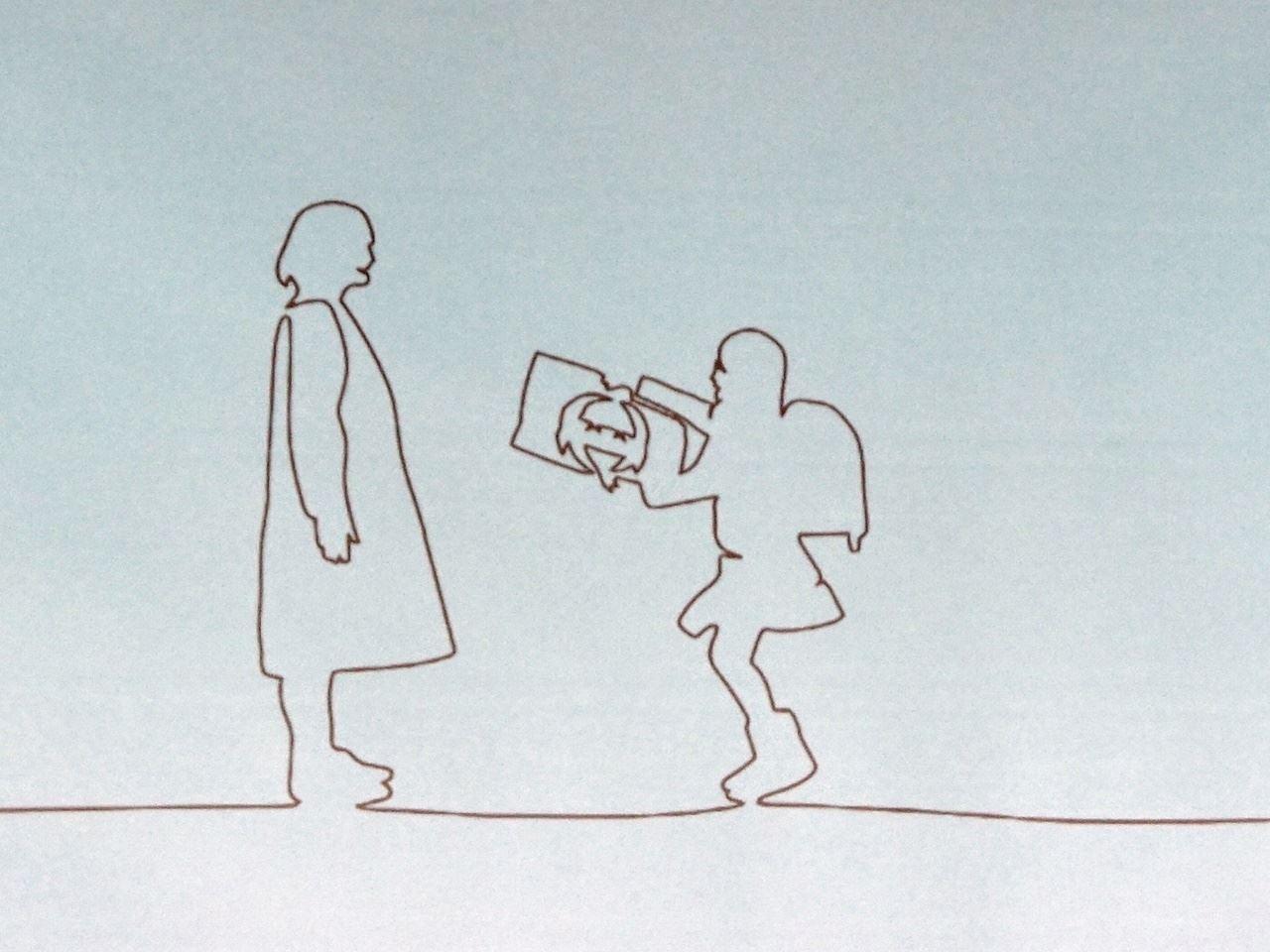 「母の日参り」シンボル・ロゴ動画