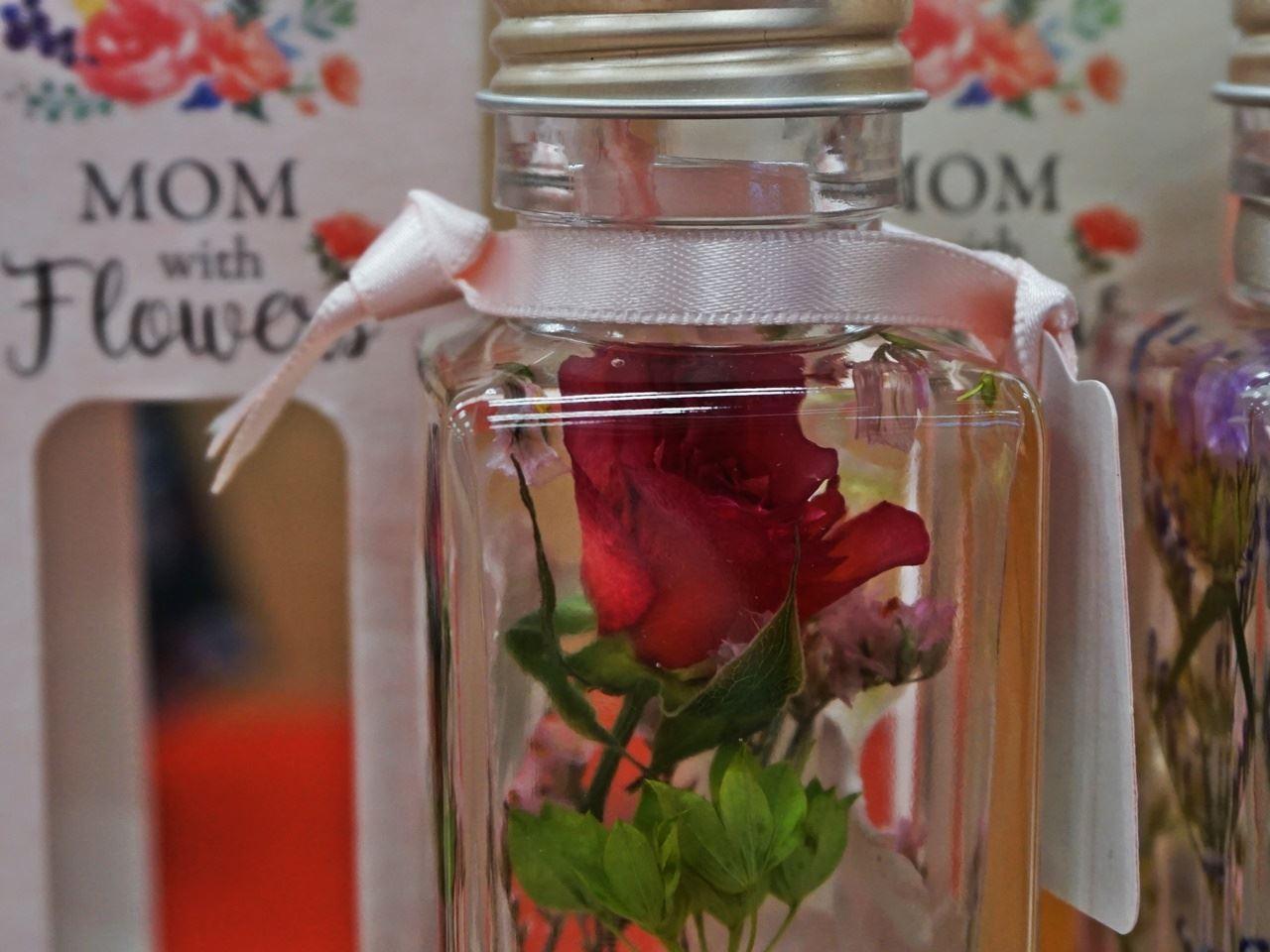 母の日 Healing Bottle「Thanks with Flowers」