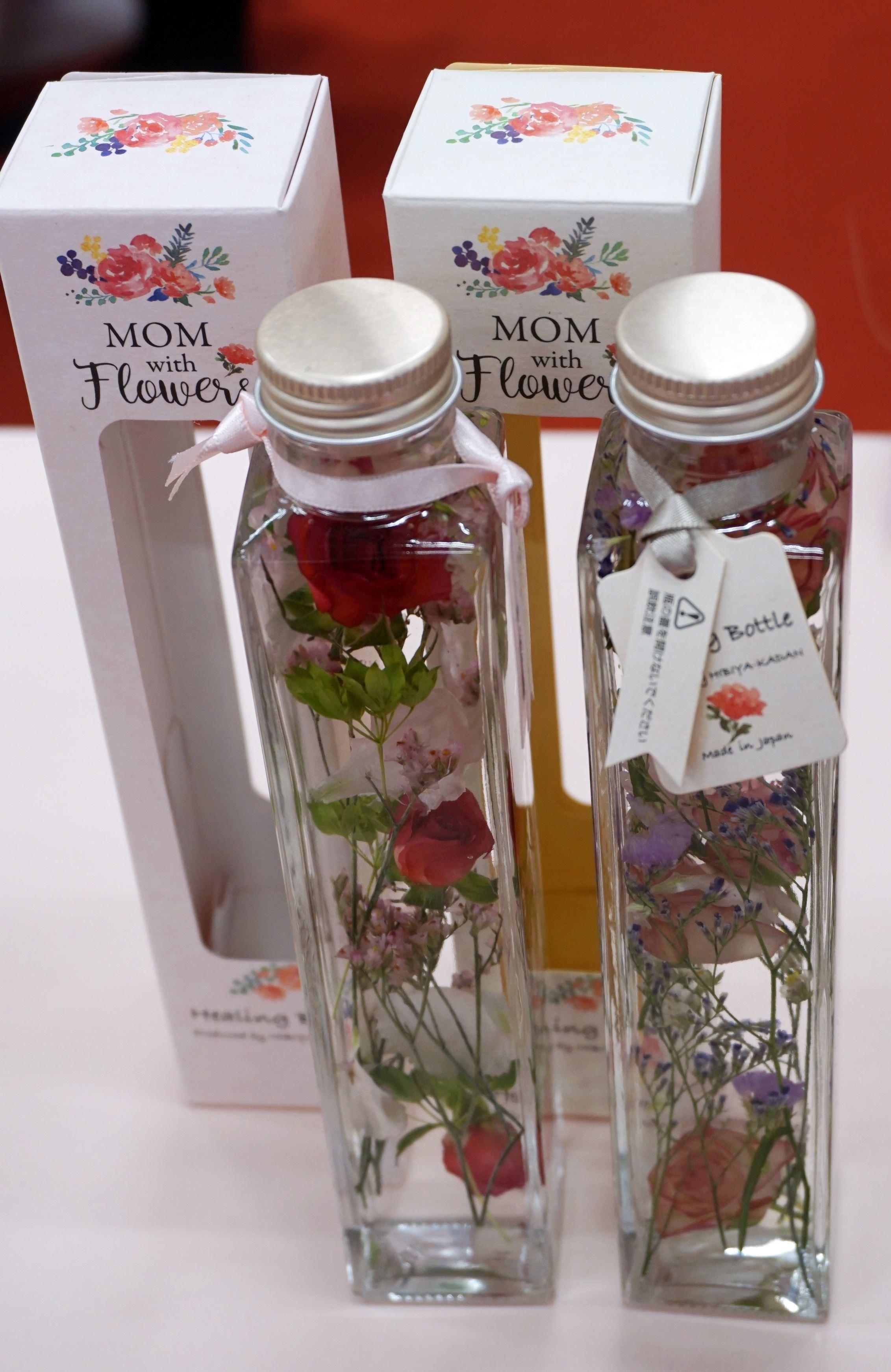 日比谷花壇のハーバリウムHealing Bottle