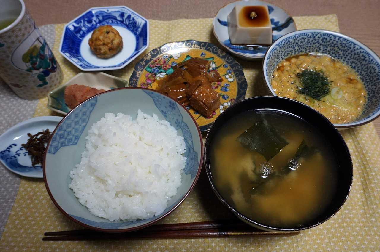 下鴨茶寮のまぐろきんぴらを開けた日の夕食